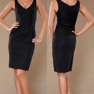 Chaiken Caroline Black Shift Dress Size 6